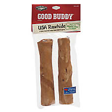 GOOD BUDDY® Rawhide Curls Dog Treat