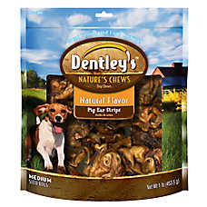 Dentley's™ Nature's Chew Pig Ear Strip Dog Treat