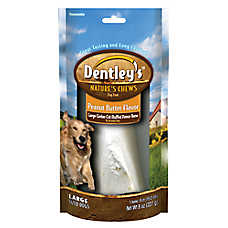 Dentley's™ Nature's Chew Filled Bone Dog Treat