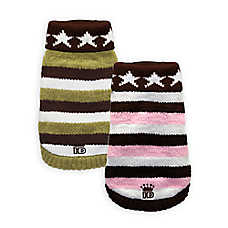 Hip Doggie Stars and Stripes Turtleneck Sweater