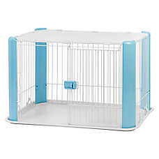 IRIS Wire Play Pen with Removable Roof