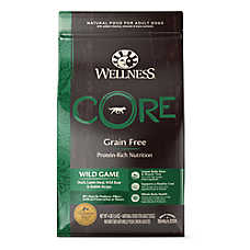 Wellness® CORE® Adult Dog Food - Natural, Grain Free, Wild Game Formula
