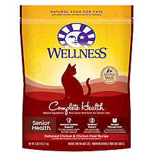 Wellness® Complete Health Senior Cat Food - Natural, Chicken & Chicken Meal