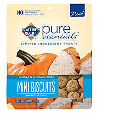 Nature's Recipe® Pure Essentials Mini Biscuit Dog Treat