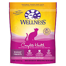 Wellness® Complete Health Cat Food - Natural, Indoor Health, Salmon & Whitefish Meal
