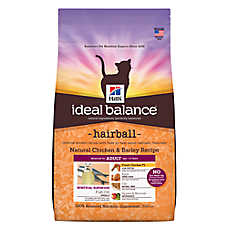 Hill's® Ideal Balance™ Hairball Adult Cat Food - Natural, Chicken & Barley