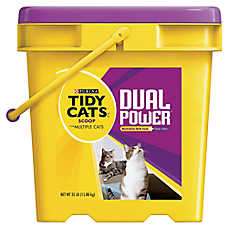 Purina® TIDY CATS® Dual Power Multiple Cat Litter