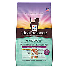 Hill's® Ideal Balance™ Indoor Adult Cat Food - Natural, Chicken & Turkey