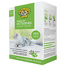 Dr. Esley's Touch of Outdoor Hard Clumping Multi-Cat Litter