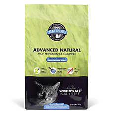 World's Best Advanced Natural Cat Litter - Natural, Clumping, Fresh Natural Scent, Multiple Cat