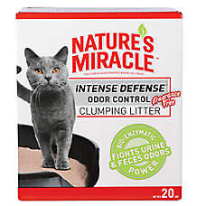 NATURE'S MIRACLE™ Intense Defense Unscented Clumping Cat Litter