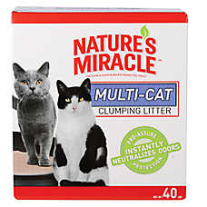 NATURE'S MIRACLE™ Multi-Cat Clumping Cat Litter