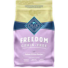 BLUE Freedom® Grain Free Indoor Kitten Food