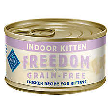 BLUE Freedom® Grain Free Chicken Indoor Kitten Food