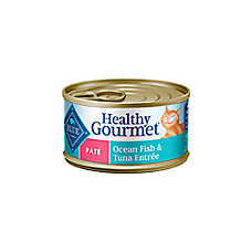 BLUE Healthy Gourmet® Ocean Fish & Tuna Adult Pate Cat Food