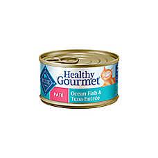 BLUE Healthy Gourmet® Ocean Fish & Tuna Adult Pate Cat Food