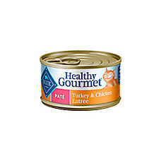 BLUE Healthy Gourmet® Adult Cat Food - Turkey & Chicken, Pate