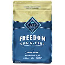 BLUE Freedom® Senior Dog Food - Grain Free, Gluten Free, Chicken
