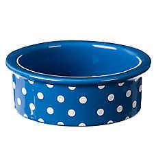 Grreat Choice® Polka Dot Cat Bowl