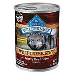 BLUE Wilderness® Wolf Creek Stew™Grain Free Beef Adult Dog Food