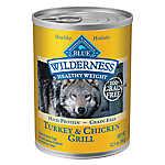 BLUE Wilderness® Grain Free Turkey & Chicken Healthy Weight Adult Dog Food