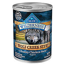 BLUE Wilderness® Wolf Creek Stew™Grain Free Adult Dog Food