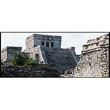 National Geographic™ 3-D Lenticular Maya Ruin Aquarium Background