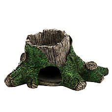 National Geographic™ Rainforest Stump Reptile Bowl