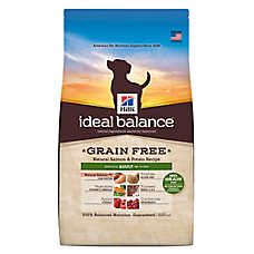 Hills® Ideal Balance™ Grain Free Adult Dog Food - Natural Salmon & Potato