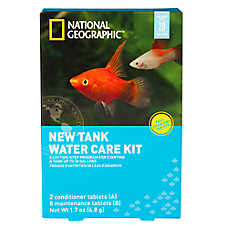 National Geographic™ New Tank Water Care Kit