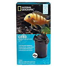 National geographic aquarium filter fish filters petsmart for National geographic fish tank filter