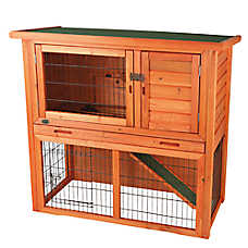 Trixie Sloped Roof Rabbit Hutch