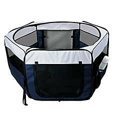 Trixie Soft Sided Mobile Small Animal Play Pen