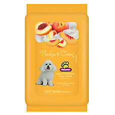 Top Paw® Peaches & Cream Scented Dog Wipes