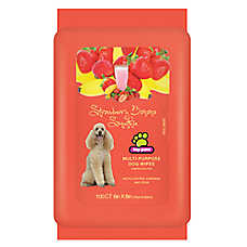 Top Paw® Strawberry & Banana Scented Dog Wipes