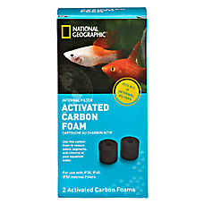 National geographic activated filter carbon foam fish for National geographic fish tank filter