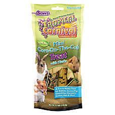 Tropical Carnival Corncob Small Animal Treat