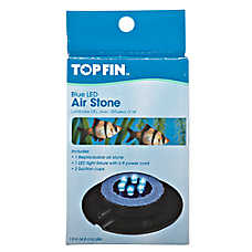 Top Fin® Blue LED Aquarium Air Stone