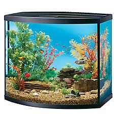 Top Fin® Bow Front Aquarium Kit