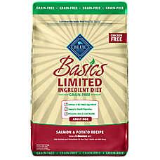 BLUE Basics® Adult Dog Food - Limited Ingredient, Grain Free, Salmon & Potato