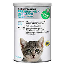 GNC Pets Premium Milk Replacer Kitten Formula