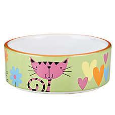 Whisker City® Heart & Kitty Cat Bowl