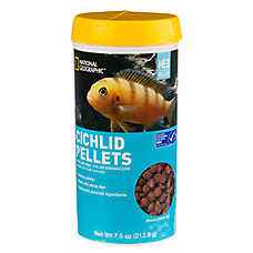 National Geographic™ Medium Cichlid Food