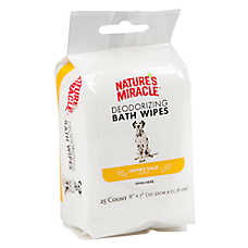 NATURE'S MIRACLE™ Dog Bath Wipe