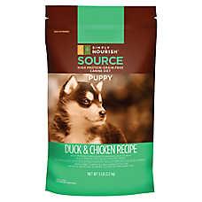 Simply Nourish™ SOURCE Puppy Food - Grain Free, High Protein, Duck & Chicken