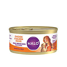 HALO® Small Breed Adult Dog Food - Natural, Grain Free, Chicken & Salmon Recipe