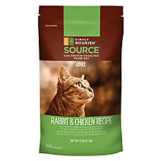 Simply Nourish™ SOURCE Adult Cat Food - Natural, Grain Free, Rabbit & Chicken