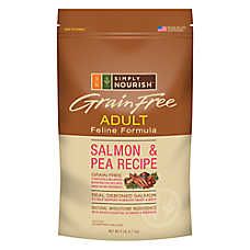 Simply Nourish® Grain Free Adult Cat Food - Salmon & Pea