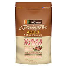 Simply Nourish™Grain Free Adult Cat Food - Salmon & Pea
