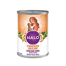 HALO® Senior Dog Food - Natural, Holistic Chicken Recipe